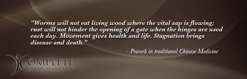 Proverb in Chinese Medicine